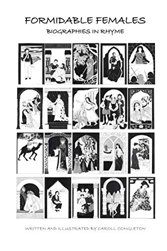9781477643815: Formidable Females: Biographies in Rhyme (Volume 1)