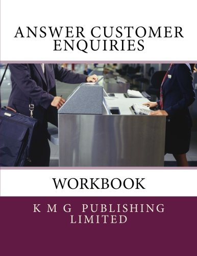9781477659465: Workbook - Answer Customer Enquiries