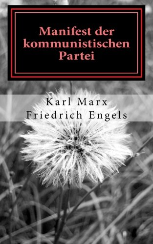 9781477673911: Manifest der Kommunistischen Partei (Volume 1) (German Edition)