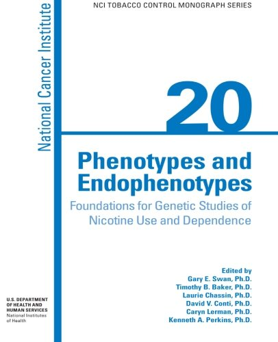 9781477689103: Phenotypes and Endophenotypes: Foundations for Genetic Studies of Nicotine Use and Dependence