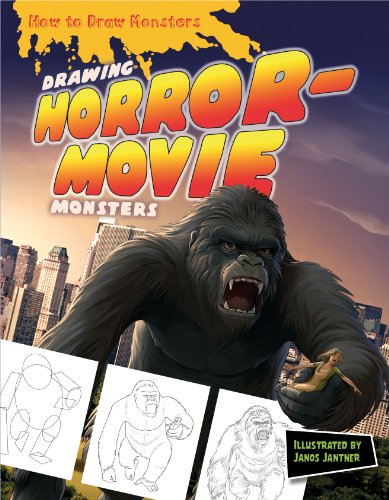 Drawing Horror-Movie Monsters (How to Draw Monsters (Powerkids))