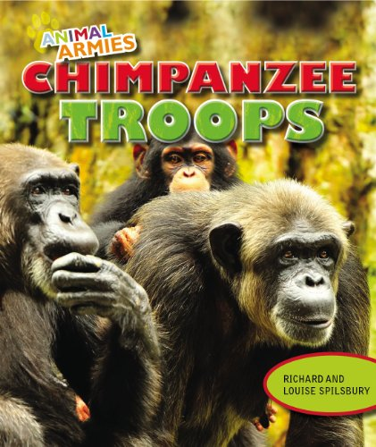Chimpanzee Troops (Animal Armies): Richard Spilsbury