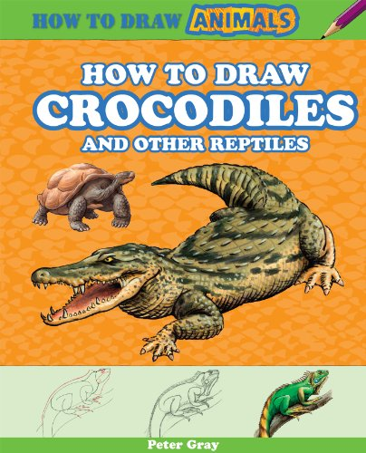 9781477714133: How to Draw Crocodiles and Other Reptiles (How to Draw Animals)