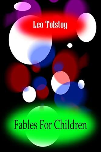 9781478111382: Fables for Children