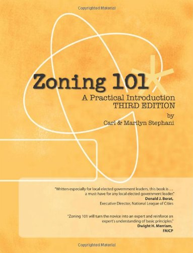 9781478116097: Zoning 101 - A Practical Introduction: 3rd Edition
