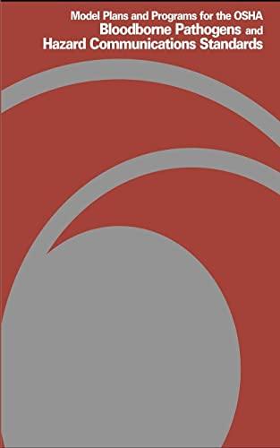 Model Plans and Programs for the OSHA: Labor, U. S.
