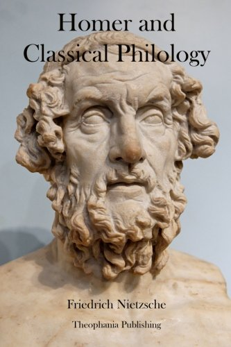 9781478155058: Homer and Classical Philology