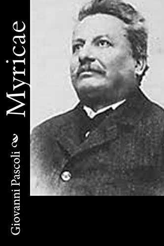 Myricae Italian Edition: Giovanni Pascoli