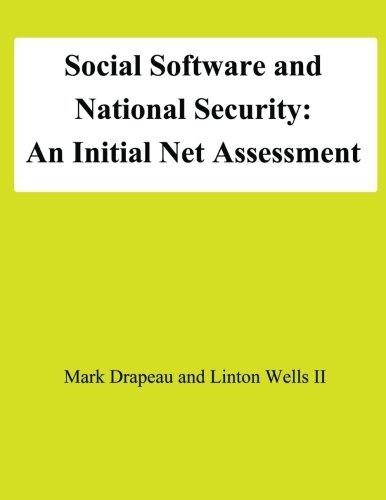 9781478195337: Social Software and National Security: An Initial Net Assessment