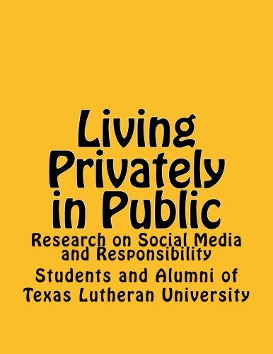 Living Privately in Public: Research on Social: TLU Krost Symposium