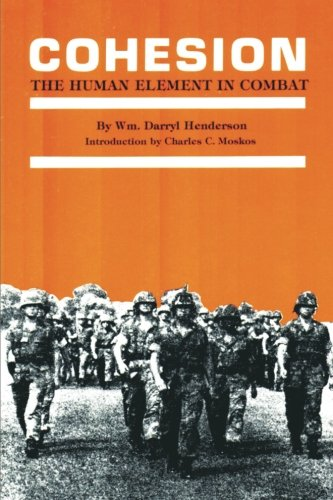 9781478268185: Cohesion: The Human Element in Combat