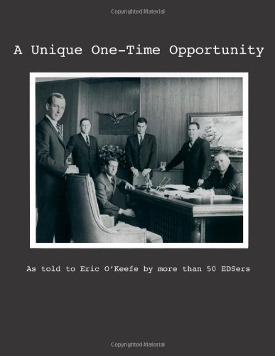 9781478273325: A Unique One-Time Opportunity