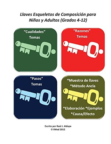 9781478285137: Llaves Esqueletos de Composicion para Ninos y Adultos (Grados 4-12) (Spanish Edition)