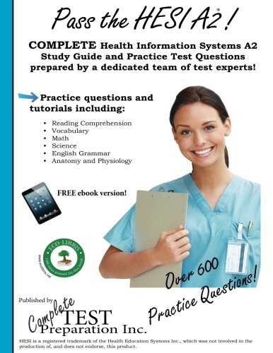 9781478296966: Pass the HESI A2: A Complete Study Guide with Practice Test Questions