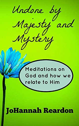 9781478310143: Undone by Majesty and Mystery: Meditations on God and how we relate to him