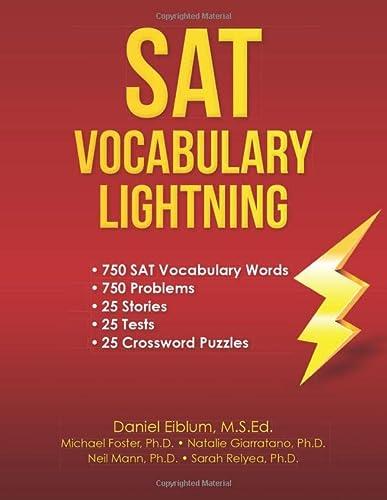 9781478310396: SAT Vocabulary Lightning