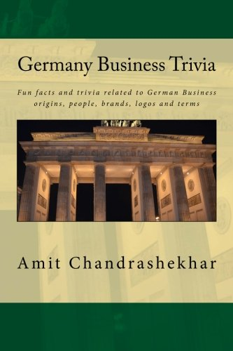 Germany Business Trivia: Fun facts and trivia related to German Business origins, people, brands, ...