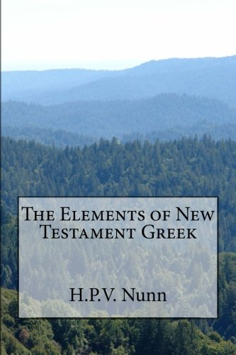 9781478340805: The Elements of New Testament Greek