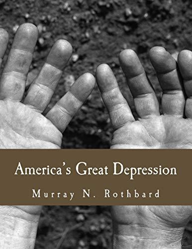 9781478344117: America's Great Depression (Large Print Edition)
