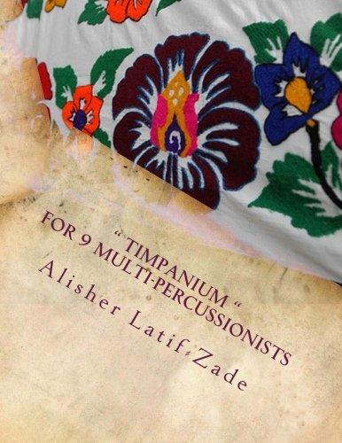 """9781478362630: """" Timpanium """": for 9 multi-percussionists"""
