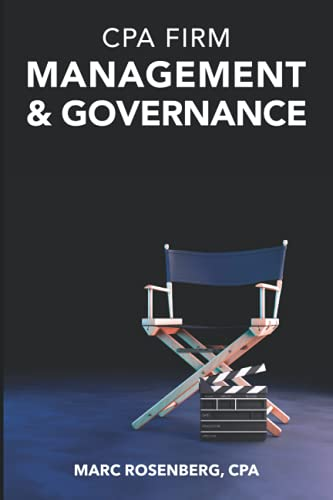 9781478385226: CPA Firm Management & Governance