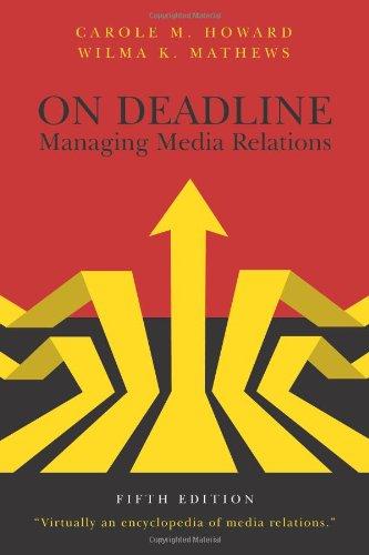 9781478603405: On Deadline: Managing Media Relations, Fifth Edition