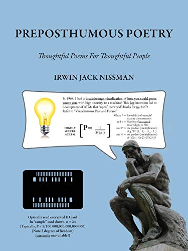 9781478713289: Preposthumous Poetry: Thoughtful Poems for Thoughtful People