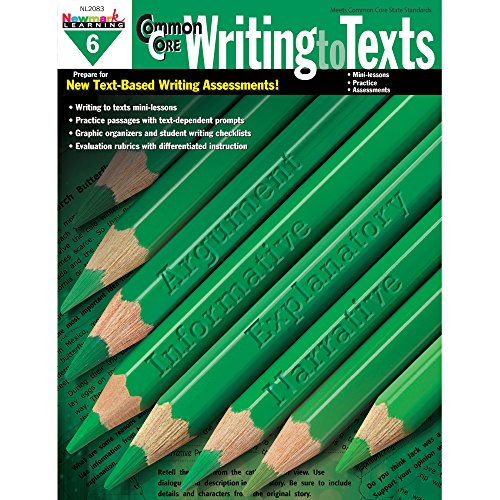 9781478803973 - Authors, Multiple: Common Core Practice Writing to Texts Grade 6 - Book