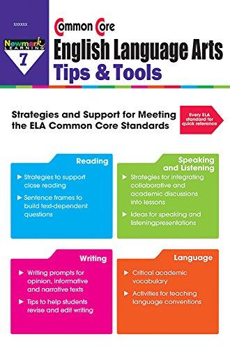 9781478807506: Common Core ELA Tips & Tools Grade 7