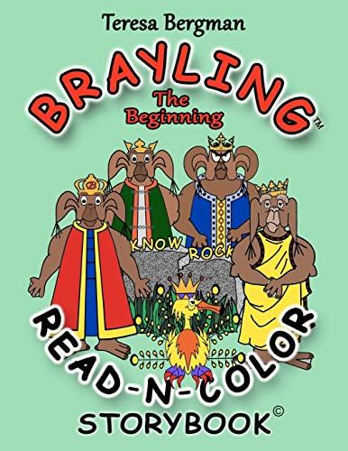Brayling The Beginning Read-N-Color Storybook: Teresa Bergman
