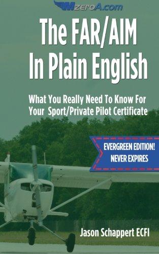 The FAR/AIM In Plain English: Schappert, Jason