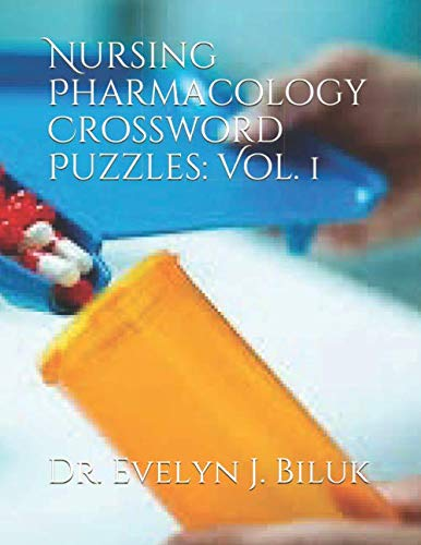 9781479144181: Nursing Pharmacology Crossword Puzzles: Vol. 1