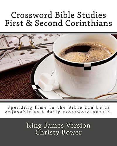 9781479147564: Crossword Bible Studies - First & Second Corinthians: King James Version