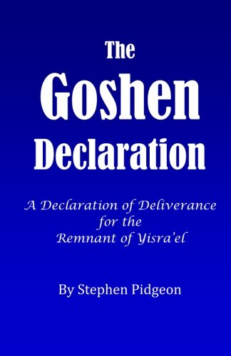 9781479179367: The Goshen Declaration: A Declaration of Deliverance for the Remnant of the House of Israel