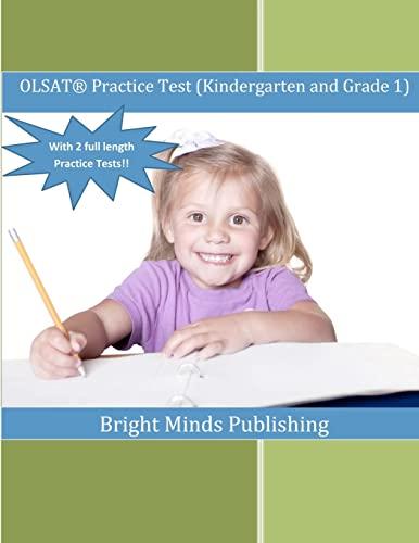 9781479186228: OLSAT Practice Test (Kindergarten and Grade 1): (With 2 Full Length Practice Tests)