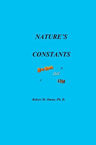 9781479187034: Nature's Constants
