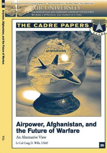 9781479194049: Airpower, Afghanistan, and the Future of Warfare: An Alternative View: A CADRE Paper