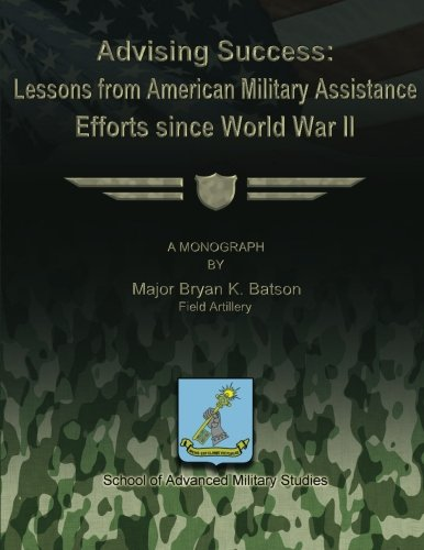 9781479195824: Advising Success: Lessons from American Military Assistance Efforts Since World War II