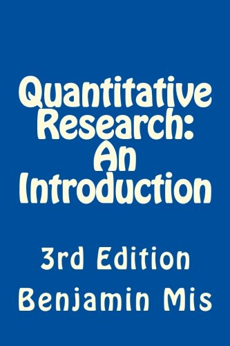 9781479200863: Quantitative Research: An Introduction