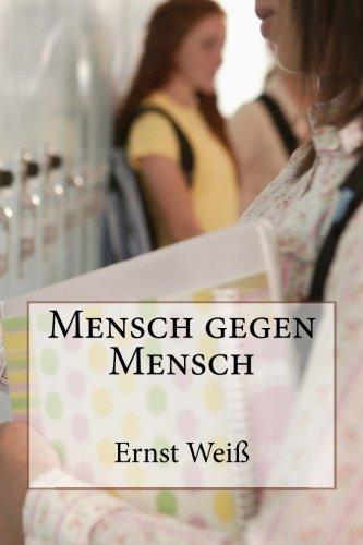 9781479204007: Mensch gegen Mensch (German Edition)