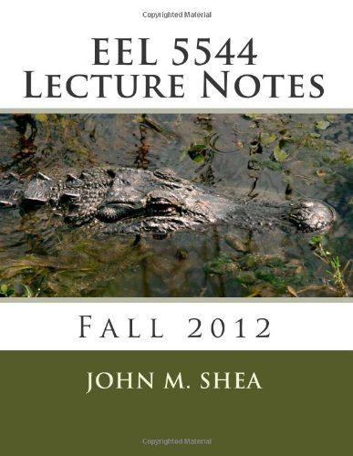 9781479213160: EEE 5544 Lecture Notes