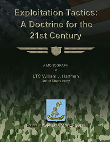 9781479214648: Exploitation Tactics - A Doctrine for the 21st Century