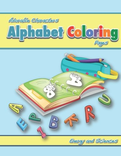 9781479216222: Adorable Characters Alphabet Coloring Pages