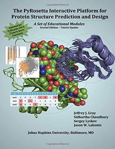 9781479224821: The PyRosetta Interactive Platform for Protein Structure Prediction and Design: A Set of Educational Modules