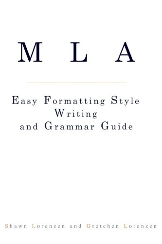 9781479229260: MLA Easy Formatting Style Writing and Grammar Guide