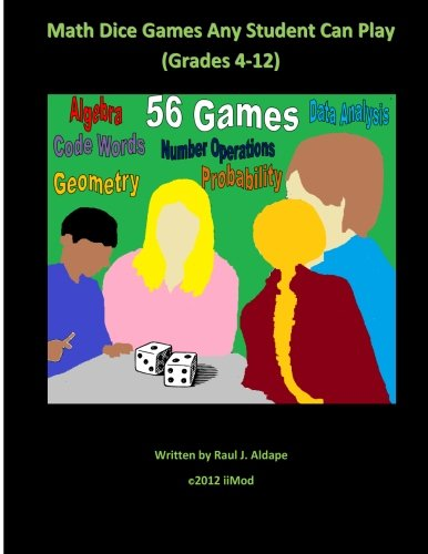 9781479241606: Math Dice Games Any Student Can Play (Grades 4-12)