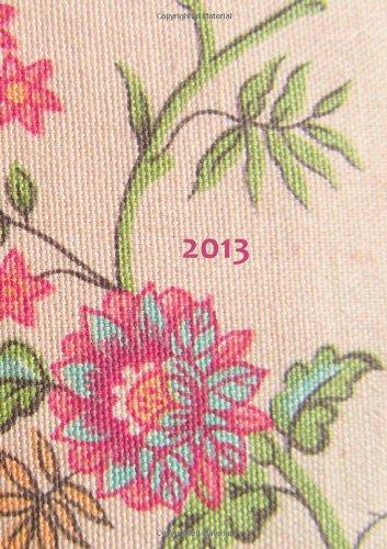 9781479242177: Tagebuch Kalender 2013 - Blumen: Endlich genung Platz für dein Leben! DIN A4, 1 Tag pro Seite