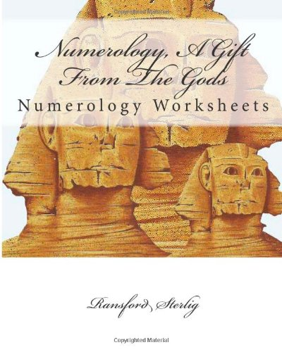 9781479245550: Numerology, A Gift From The Gods: Numerology Worksheets