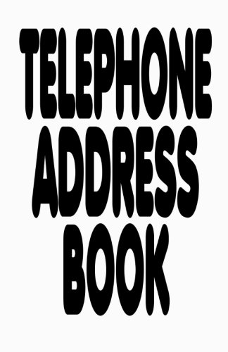 9781479248292: Telephone Address Book