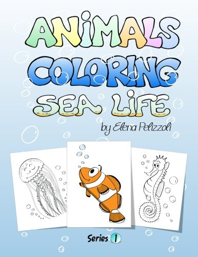 9781479256006: Animals Coloring Sea Life